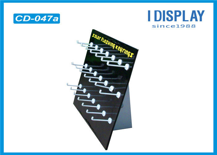 Promotional Custom Cardboard Counter Displays With Plastic Hook